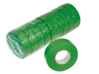 Isolierband aus Weich-PVC grün
