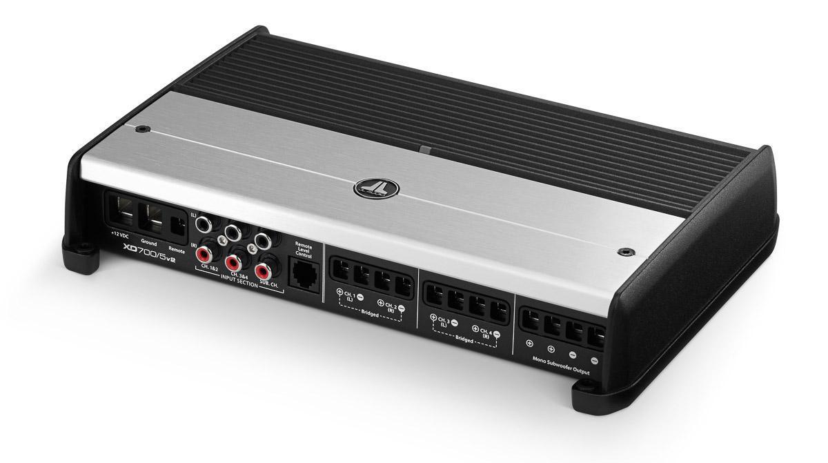 JL AUDIO XD700/5v2 - 5-Channel Amplifier digital on