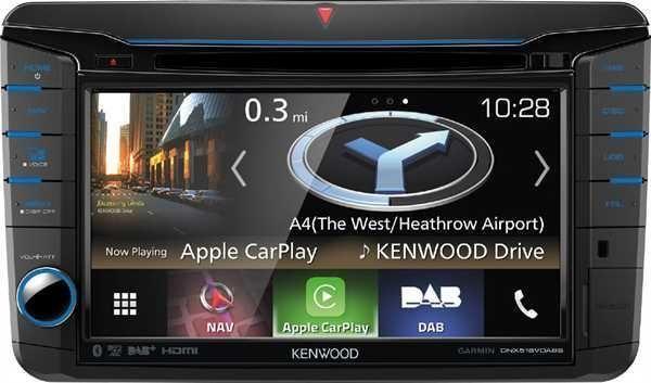 Kenwood DNX518VDABS - 2DIN Navigation