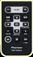 Pioneer CD-R320 Fernbedienung Kreditkartenformat