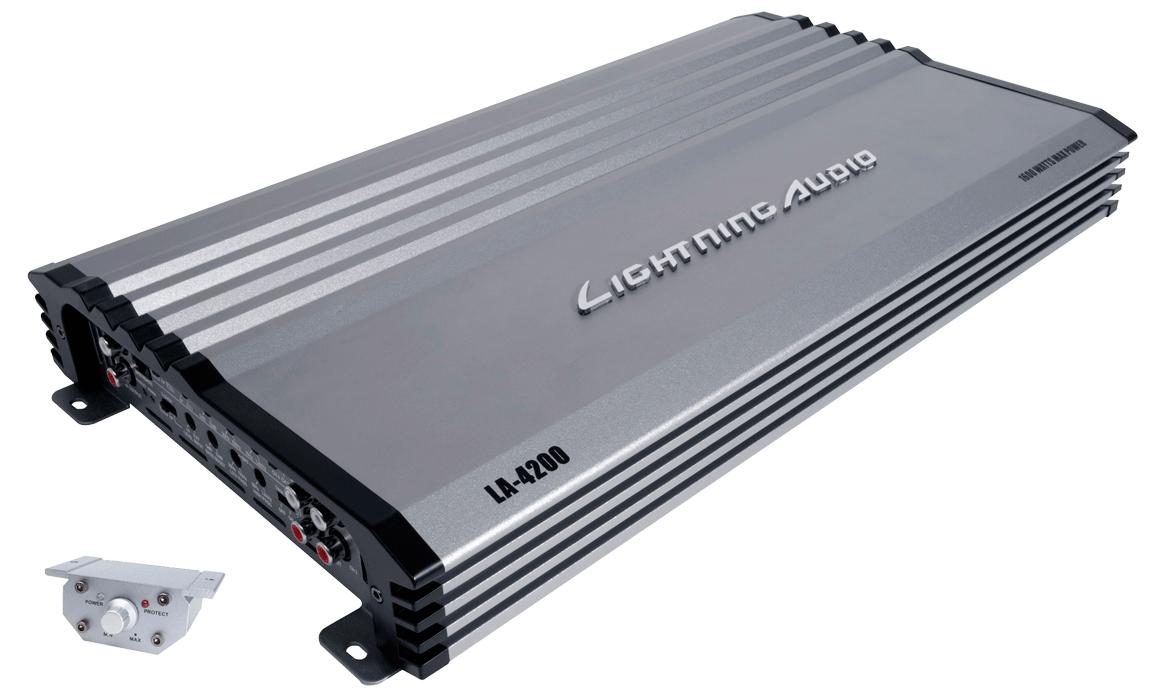 Lightning Audio Amplifier La 4200 All Hifi Navigation Car Shop