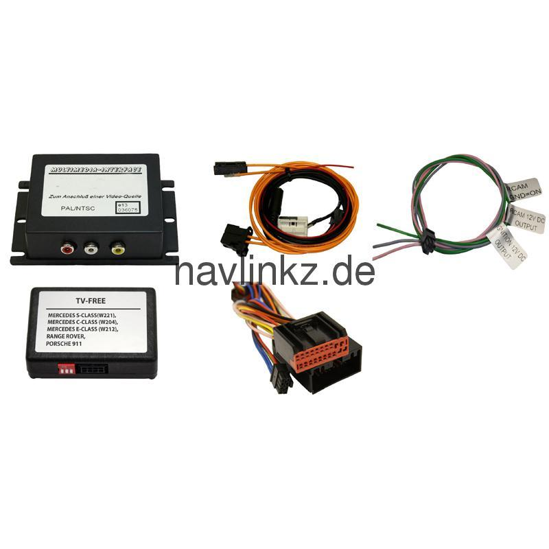 Multimedia Interface for MOST basis for LAND ROVER with touch screen  navigation from