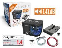 Hifinics MBP1000.4 - 4 Kanal Bass Kit mit 141dB Leistung