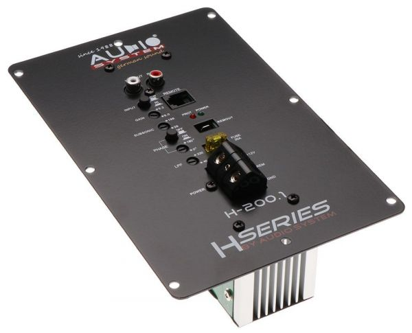 Audio System H-200.1 - 1-Kanal Verstärker