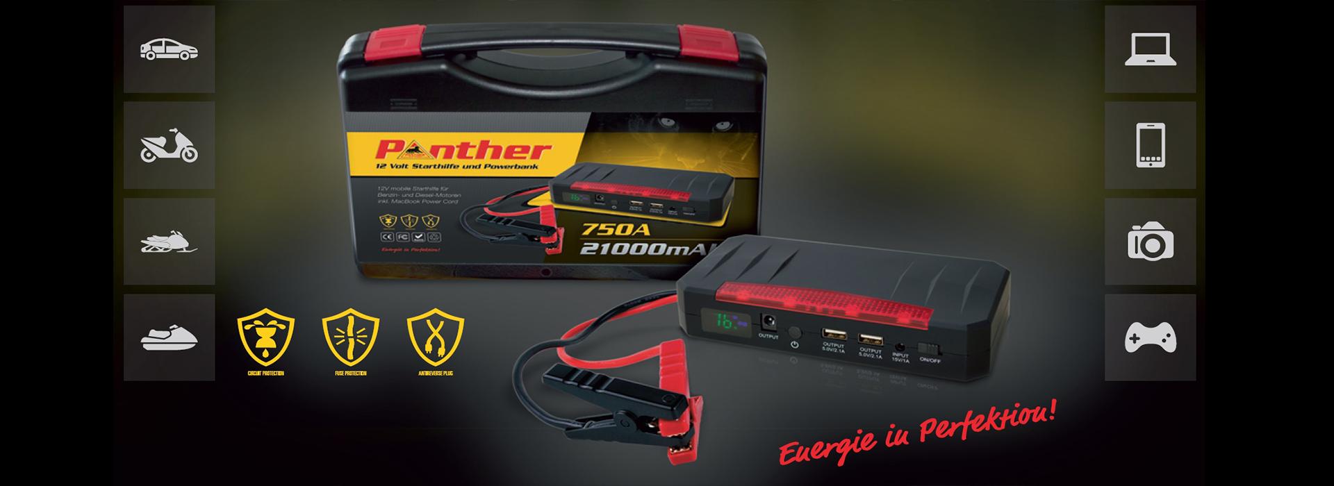 Panther Mobile Starthilfe