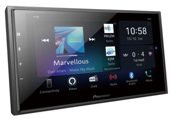 Pioneer SPH-EVO64DAB-SMAW - 1-DIN Multimedia Player für Smart Weiß